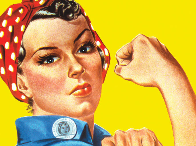 Rosie the Riveter is a fake.